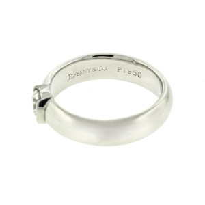 Tiffany & Co. Platinum Solitare Engagement Ring