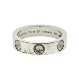 18k White Gold Louis Vuitton Empreinte Ring
