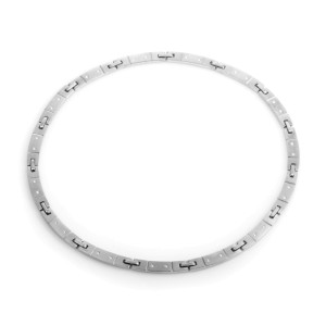 Tiffany & Co. 18K White Gold Diamond Collar Necklace