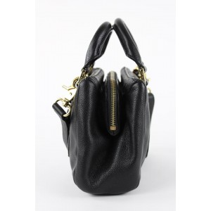 Tory Burch Mini Black Leather 2way Tote Bag r 1toy1229