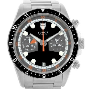 Tudor Heritage 70330 Stainless Steel Sapphire 42mm Mens Watch