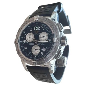 Breitling Emergency Mission A73322 Stainless Steel & Rubber 46mm Watch