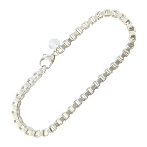 Tiffany Co 925 Sterling Silver Venetian Link Bracelet