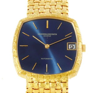 Vacheron & Constantin 7664 18K Yellow Gold Automatic 32mm Mens Watch