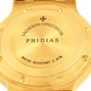 Vacheron & Constantin Phidias 18K Yellow Gold Automatic 25mm Womens Watch