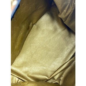 Versace Mini 10va523 Yellow Canvas Backpack