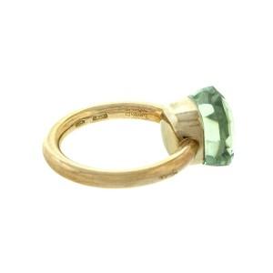 Pomellato 18k Rose Gold Nudo Ring Prasiolite