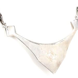 Hermes Rare Silver Tuareg Necklace