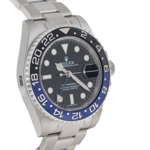 Rolex 116710 GMT Master II BLNR Ceramic Batman Bezel Black Dial Mens Watch