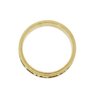 Tiffany & Co. Atlas 18K Yellow Gold Ring Size 8.75