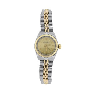 Rolex Oyster Perpetual 6619 26mm Womens Watch