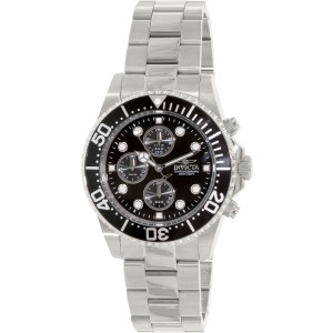 Invicta Pro Diver 1768 Silver Stainless Steel Quartz Mens Watch
