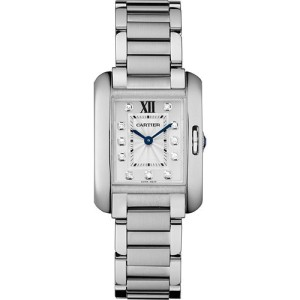 Cartier Tank Anglaise W4TA0003 30.2mm Womens Watch