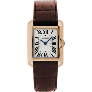 Cartier Tank Anglaise W5310027 30mm Womens Watch