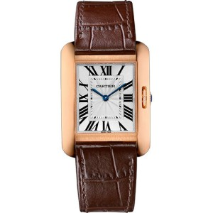 Cartier Tank Anglaise W5310042 34.7mm Womens Watch