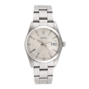 Rolex Oyster Date 6694 Stainless Steel Manual Wind 34mm Mens Watch