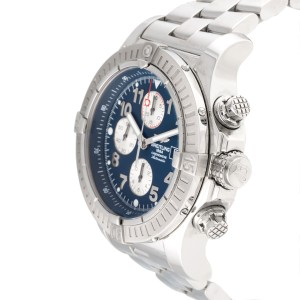 Breitling Super Avenger A13370 Stainless Steel Chronograph.48.4mm  Mens Watch
