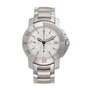 Baume & Mercier Capeland Chronograph 65352 Mens 38mm Watch