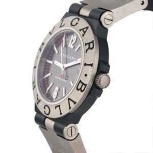 Bulgari Diagono TI38TA Titanium Carbon Fiber Automatic 38mm Unisex Watch