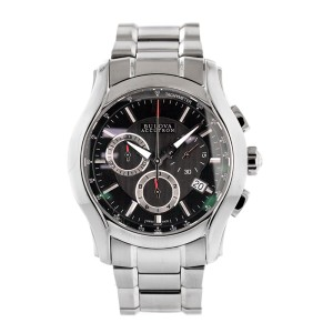 Bulova Accutron 63B141 Stratford Swiss Chronograph Watch