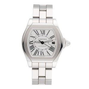 Cartier Roadster 3312 Stainless Steel Automatic 40mm Mens Watch