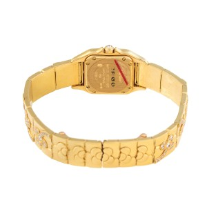 Cartier Panthere 18k Yellow Gold Diamond Ladies Watch