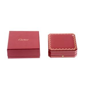 Cartier 18K Tri-Color 0.06ct. Diamonds Trinity Necklace