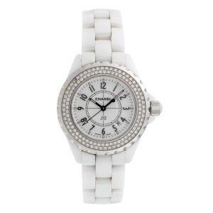 Chanel J12 H0967 Ceramic Quartz 33mm Womens Watch