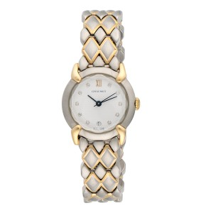 Chaumet Stainless Steel & 18K Yellow Gold Quartz 26.5mm Womens Watch
