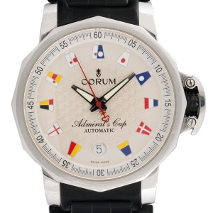 Corum Admiral's Cup Stainless Steel Mens Watch
