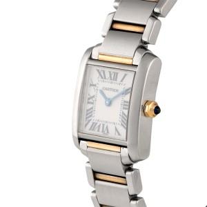 Cartier Tank Francaise W51007Q4 25mm Womens Watch