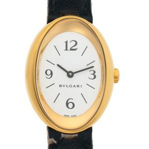 Bulgari Oval OV 32 G 23mm Womens Watch