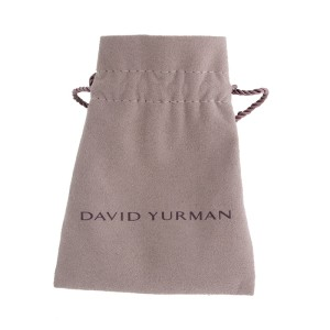 David Yurman Sterling Silver & Yellow Gold Citrine Diamond Pendant Necklace