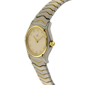 Ebel Classic Wave Two Tone Ladies Watch