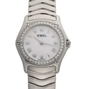 Ebel Classic Wave 1087224 24mm Womens Watch