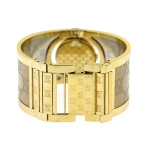 Gucci 112 Twirl Ladies Gold Tone Watch