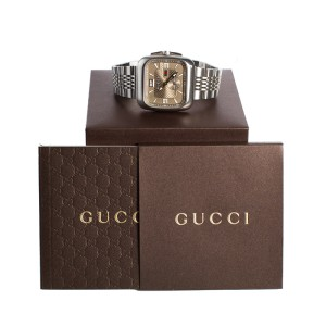 Gucci Mens Stainless Steel 131.1 Watch