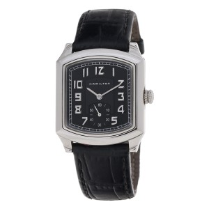 Hamilton Stainless Steel Case Leather Band 061132