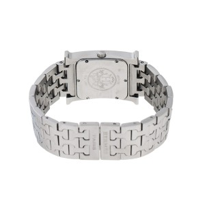 Hermes H Hour HH1.510 Stainless Steel 35mm x 26mm Watch