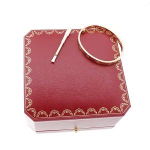 Cartier Love Bracelet 18K Rose Gold Size 19