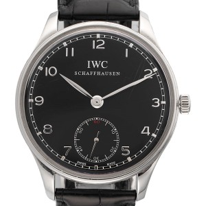 IWC Portuguese IW545407 Manual Wind Stainless Steel 44mm Mens Watch