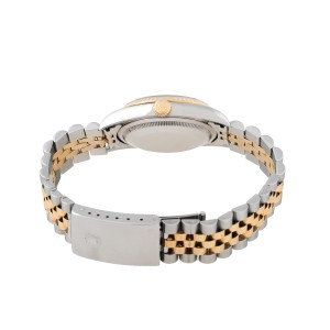 Rolex DateJust 16233 Champaign Diamond Dial 36mm Watch