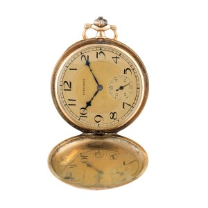 Longines 14K Yellow Gold 50mm Unisex Pocket Watch