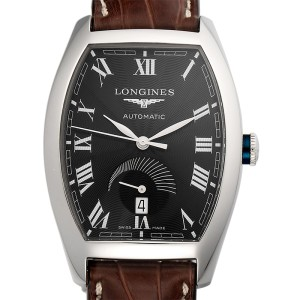 Longines Evindenza L2.672.4 Stainless Steel Automatic 38mm Mens Watch
