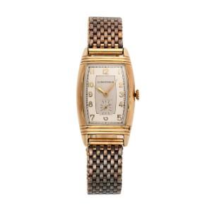 Longines 10k Gold Filled 40mm Vintage Mens Watch