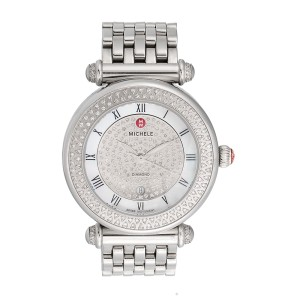 Michele Caber MW16A01A2963 Stainless Steel Diamond Dial 36.5mm Womens Watch