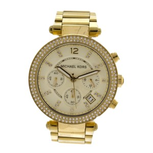91fe6530dacc Michael Kors Original MK5354 Women s Parker Gold Crystal Stainless Steel  Watch
