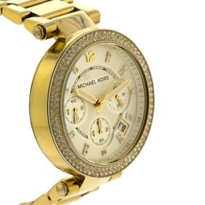Michael Kors Original MK5354 Women's Parker Gold Crystal Stainless Steel Watch