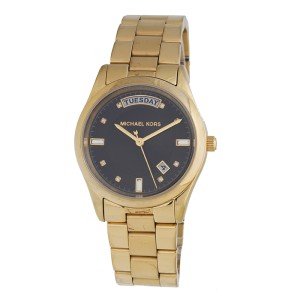 Michael Kors MK6070 Day-Date Gold-Tone Stainless Steel 33mm Watch