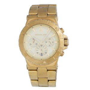 Michael Kors MK5313 Gold-Tone Stainless Steel Chronograph 42mm Watch